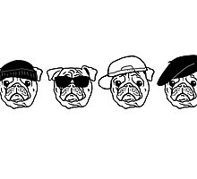 Pug in Disguise by Renato Roccon