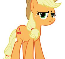 Applejack is not amused  by Mary Wine