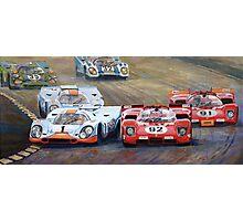 Ferrari vs Porsche 1970 Watkins Glen 6 Hours Photographic Print