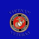 U.S. Marines - Vietnam Veteran  - iPhone Case by Buckwhite