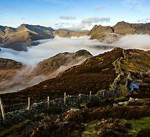Great Langdale - Cumbria by David Lewins
