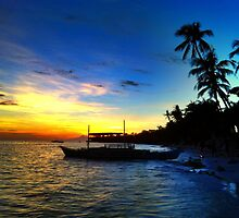 Alona Beach, Panglao by Topher Webb