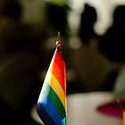 Flying the Rainbow Flag by linderel