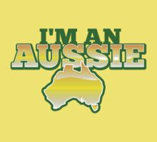 I'm an AUSSIE! with Australian map  by jazzydevil