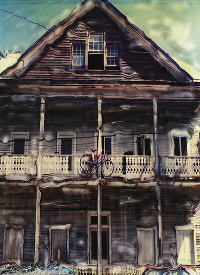 BIKE HOUSE KEY WEST FLORIDA  by scarlet james