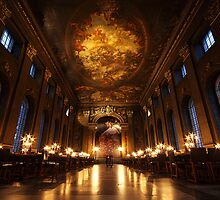 Painted Hall, Old Royal Naval College, Greenwich by Irina Chuckowree