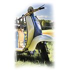 Lambretta Series 2 1960 by Mark  Swindells