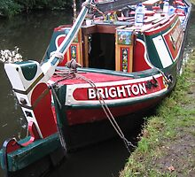"""Canal butty """" Brighton """" by terryfellows"""