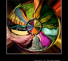 Color Wheel - - Posters & More by Maria A. Barnowl