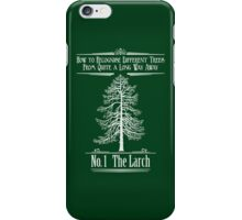 No. 1 The Larch iPhone Case/Skin