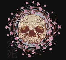 CHERRY BLOSSOM SKULL Kids Clothes
