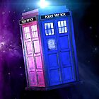 The Tardis by CreatingRayne