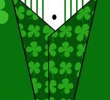 St. Patrick's Day Tux Sticker