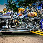 Custom paint Harley Davidson Motorcycle  by chris-csfotobiz