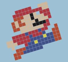 Mario Metro Tiled by sonicfan114