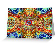 Cosmic Creatrip2 - Psychedelic trippy visuals Greeting Card