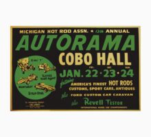 Autorama Poster Cobo Hall 1966 by The Detroit Room