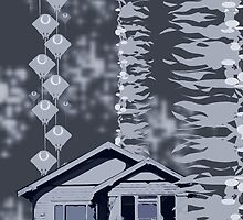 Is it a Drawing?-Kelp, House, Rays by MGLimages
