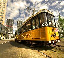 Tram of Rotterdam by Rob Hawkins