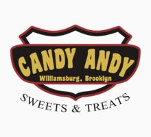 2 Broke Girls Candy Andy's Sweets and Treats by waywardtees