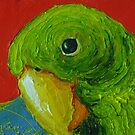 Green Parrot by OriginalbyParis
