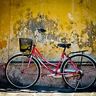 Red Bike Hoi An by salsbells69