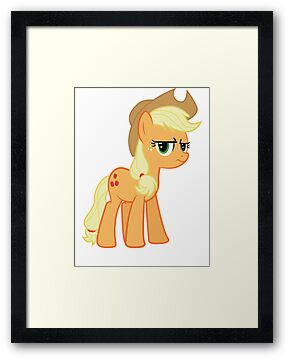 Applejack is not amused no text by Mary Wine