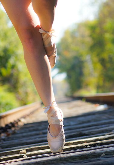 Toes on the Track 2 by emily fields