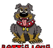 Rottie Love  by NHR CARTOONS .