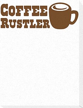 Coffee Rustler with cute mug coffee bean by jazzydevil
