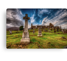 Cill Chriosd Church Canvas Print