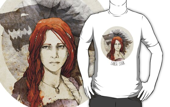Sansa Stark · t-shirt by elia, illustration