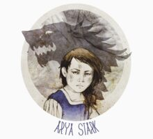 Arya Stark · t-shirt by elia, illustration