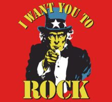 I want you to ROCK by monsterplanet