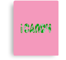 iCANDY Canvas Print