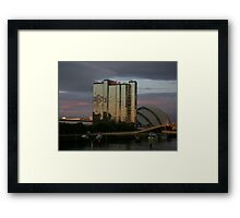 Sunset on the Clyde Framed Print