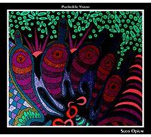 Suco Opium Black Ligth Photographic Print