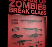 In Case of Zombies Break Glass by tombst0ne