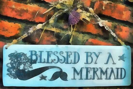 Blessed by a Mermaid by Joni  Rae