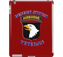 101st Airborne Desert Storm Veteran - iPad Case iPad Case/Skin