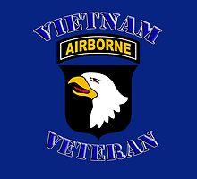 101st Airborne Vietnam Veteran -  iPad Case by Buckwhite