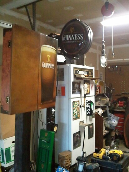 The O&#x27;Neill  Guinness Kegerator at O&#x27;Neill&#x27;s Pub, Hatfield, PA by Edmond J. [&quot;Skip&quot;] O&#x27;Neill