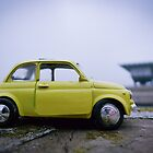 Fiat Cinquecento on the Lingotto&#x27;s roof by monsieurI
