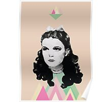 Dorothy //pastel triangles Poster