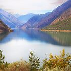 Seton Lake, British Columbia, Panorama by Yannik Hay