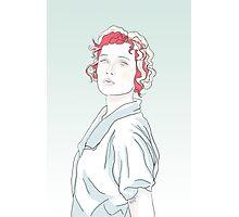 Aleisha Sketch Photographic Print