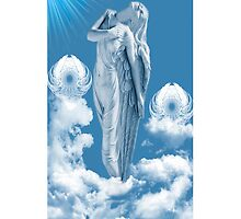 ๑۩۞۩๑ ANGEL STEPS WALKING IN CLOUDS IPHONE CASE ๑۩۞۩๑ by ╰⊰✿ℒᵒᶹᵉ Bonita✿⊱╮ Lalonde✿⊱╮