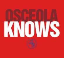 Discreetly Greek - Osceola Knows - Nike Parody T-Shirt