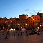 Piazza del Campo by Andrea  Muzzini
