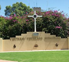 Broken Hill Vietnam Veterans Memorial  by Heather Dart